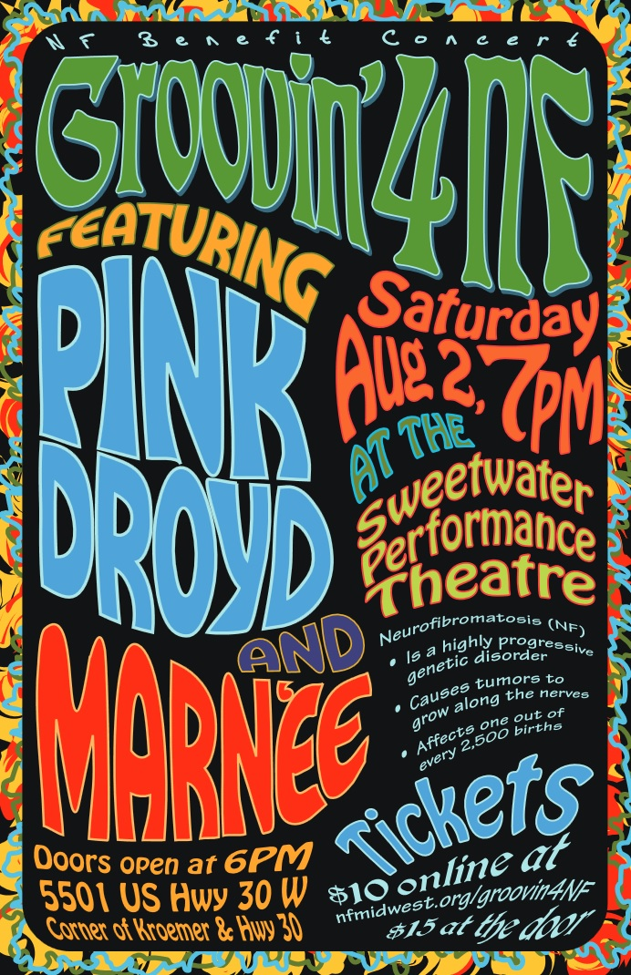 Pink Droyd Concert featuring all your favorite Pink Floyd songs.
