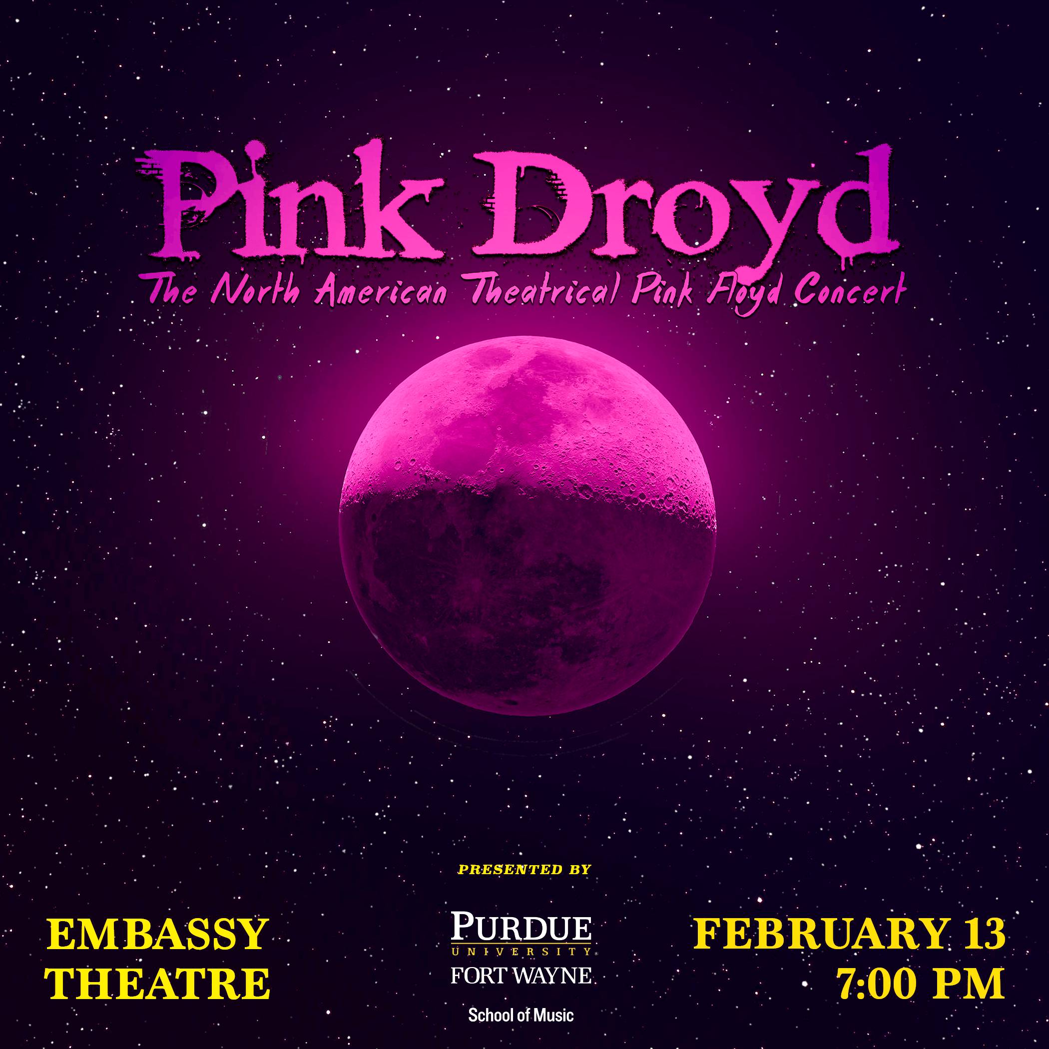 Pink Droyd Concert featuring The Wall.